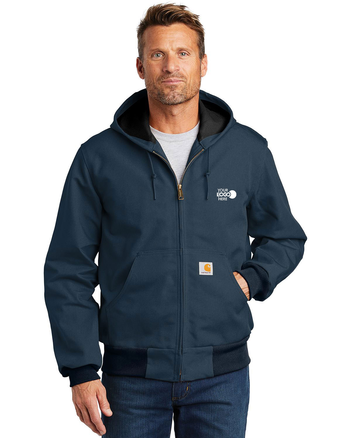 Carhartt CTJ131 Thermal-Lined Duck Active Jacket