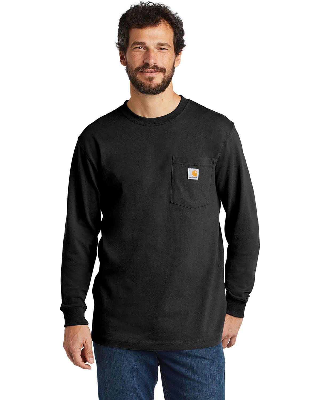 Carhartt CTK126 Workwear Pocket Long Sleeve T-Shirt