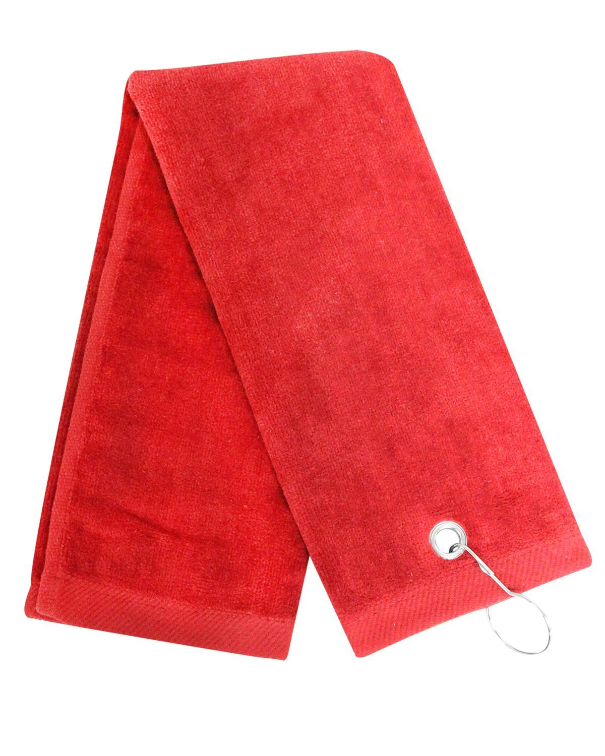 Carmel Towel Company C1624TG Legacy Trifold Golf Towel with Grommet