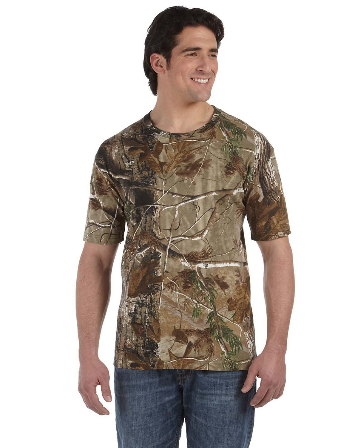 Code V 3980 Officially REALTREE Camouflage Short-Sleeve T-Shirt