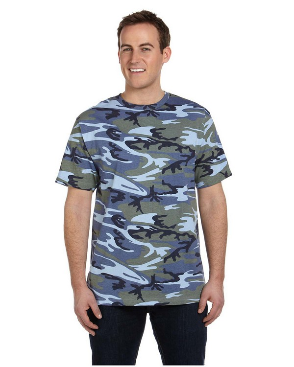 Code V LS3906 Camouflage T-Shirt