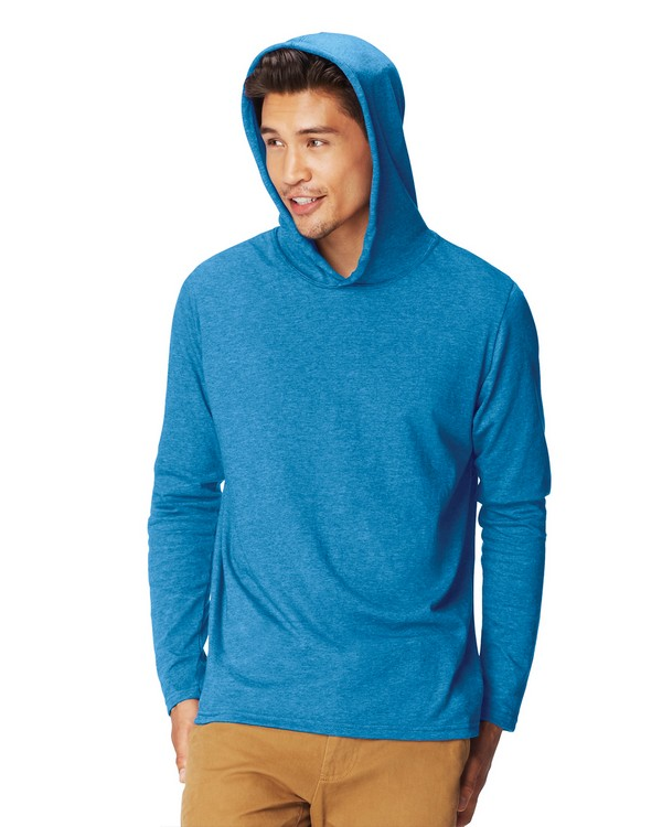 Comfort Colors 4900 Adult Long-Sleeve Hooded T-Shirt