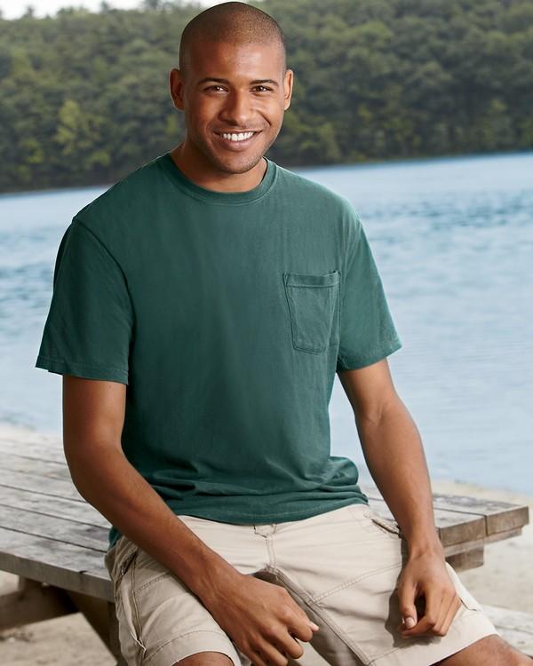Comfort Colors 6030CC Garment-Dyed Pocket T-Shirt
