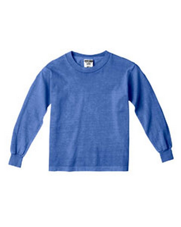 Comfort Colors C3483 Youth Garment-Dyed Long-Sleeve T-Shirt