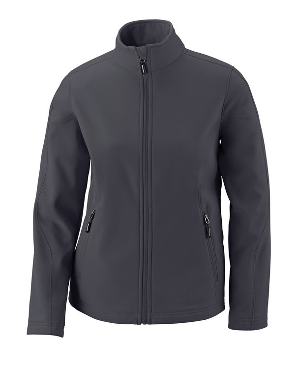 Core365 78184 Ladies Cruise Two-Layer Fleece Bonded Soft Shell Jacket
