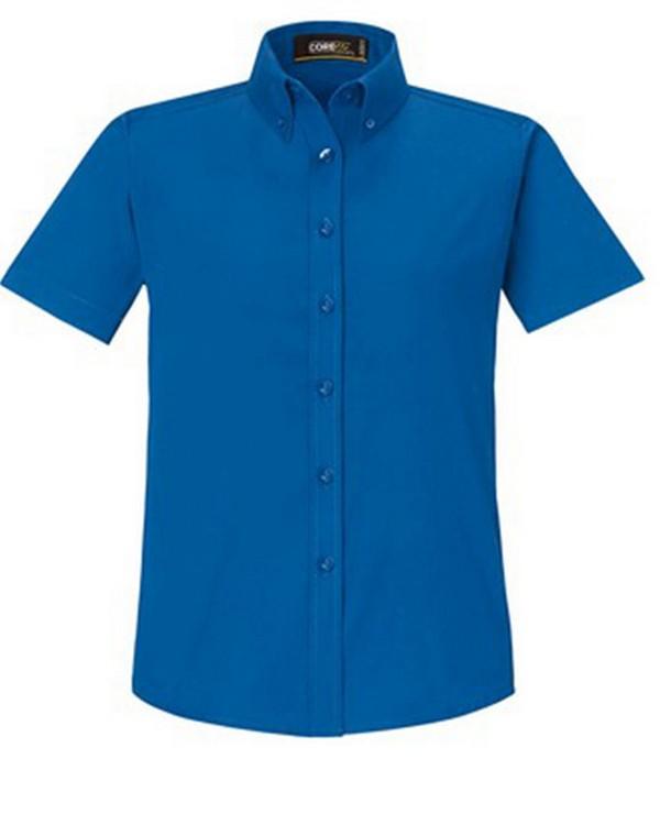 Core365 78194 Ladies Optimum Short-Sleeve Twill Shirt
