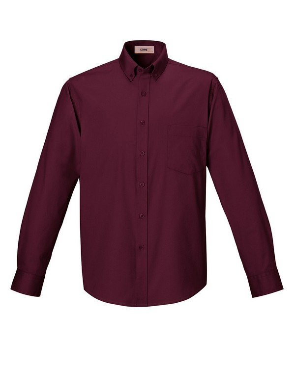 Core365 88193 Mens Operate Long-Sleeve Twill Shirt