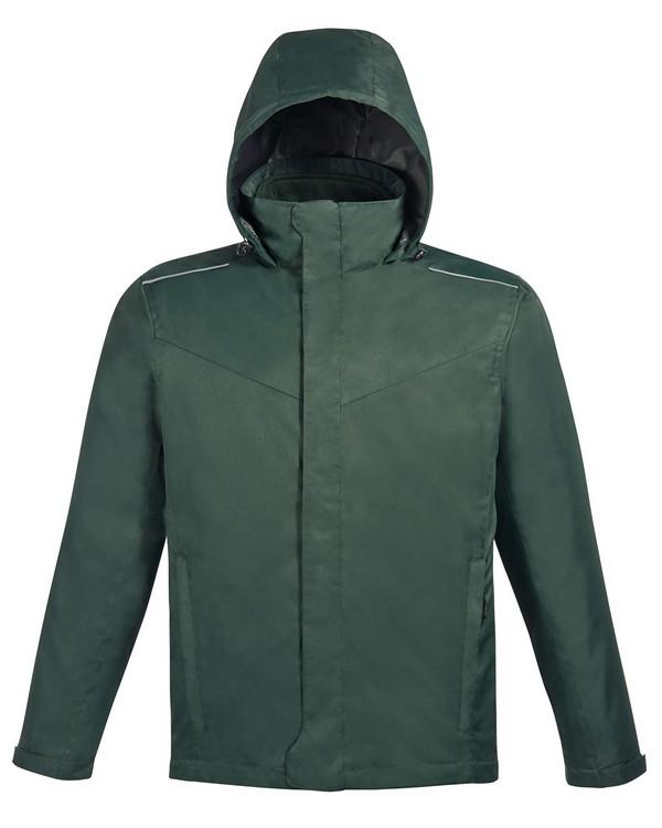 Core365 88205 Region Mens 3 In 1 Jacket with Fleece Liner