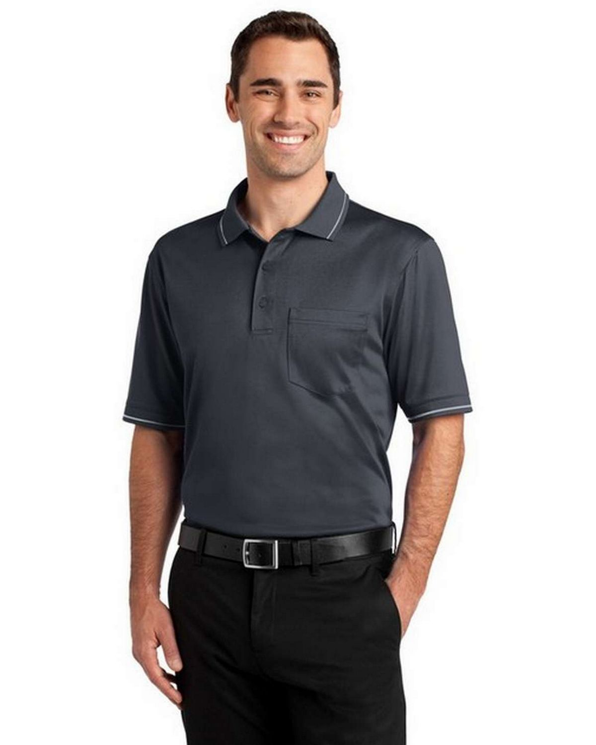 Cornerstone CS415 Select Snag Proof Tipped Pocket Polo
