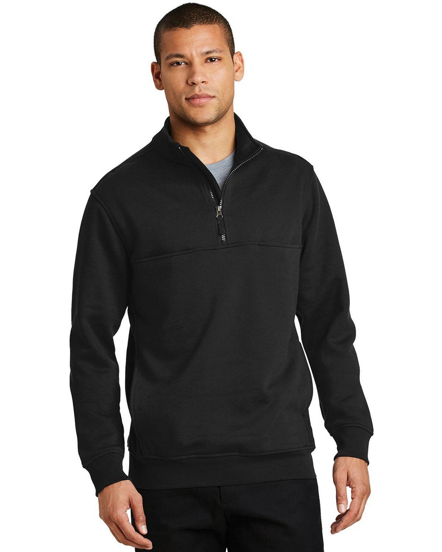 Cornerstone CS626 1/2-Zip Job Shirt