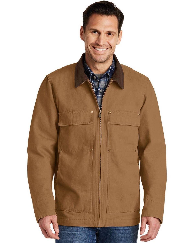 Cornerstone CSJ50 Mens Washed Duck Cloth Chore Coat