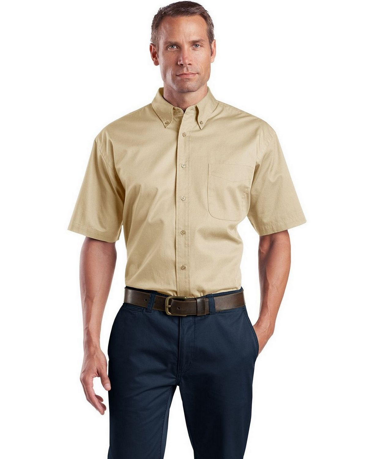 Cornerstone SP18 Short Sleeve SuperPro Twill Shirt
