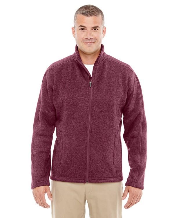 Devon  Jones DG793 Mens Bristol Full Zip Sweater Fleece Jacket