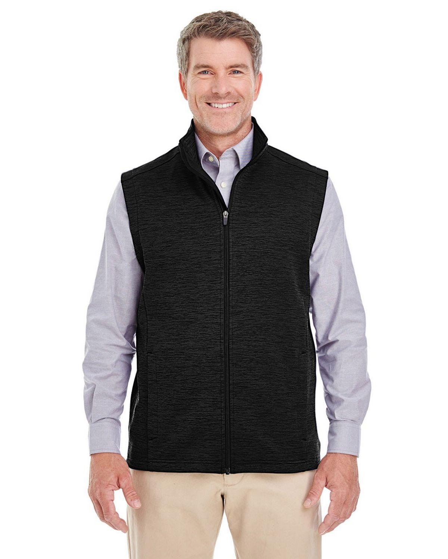 Devon  Jones DG797 Mens Newbury Melange Fleece Vest