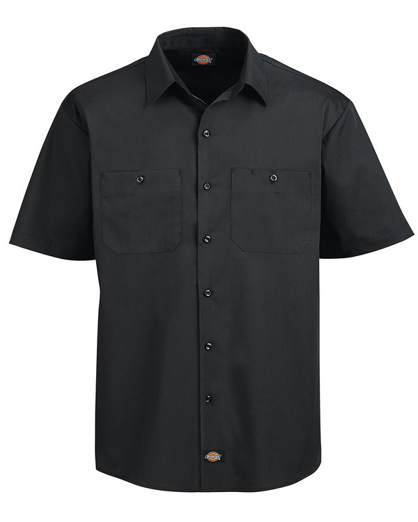 Dickies LS516 4.25 oz. WorkTech with AeroCool Mesh Premium Performance Work Shirt