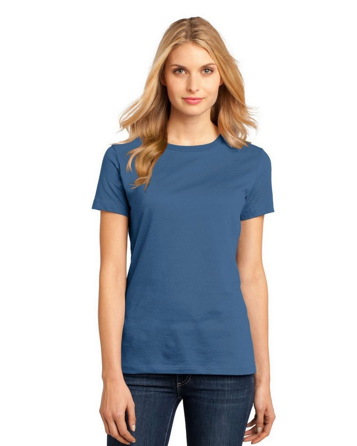 District DM104L Women Perfect Weight Crew Tee