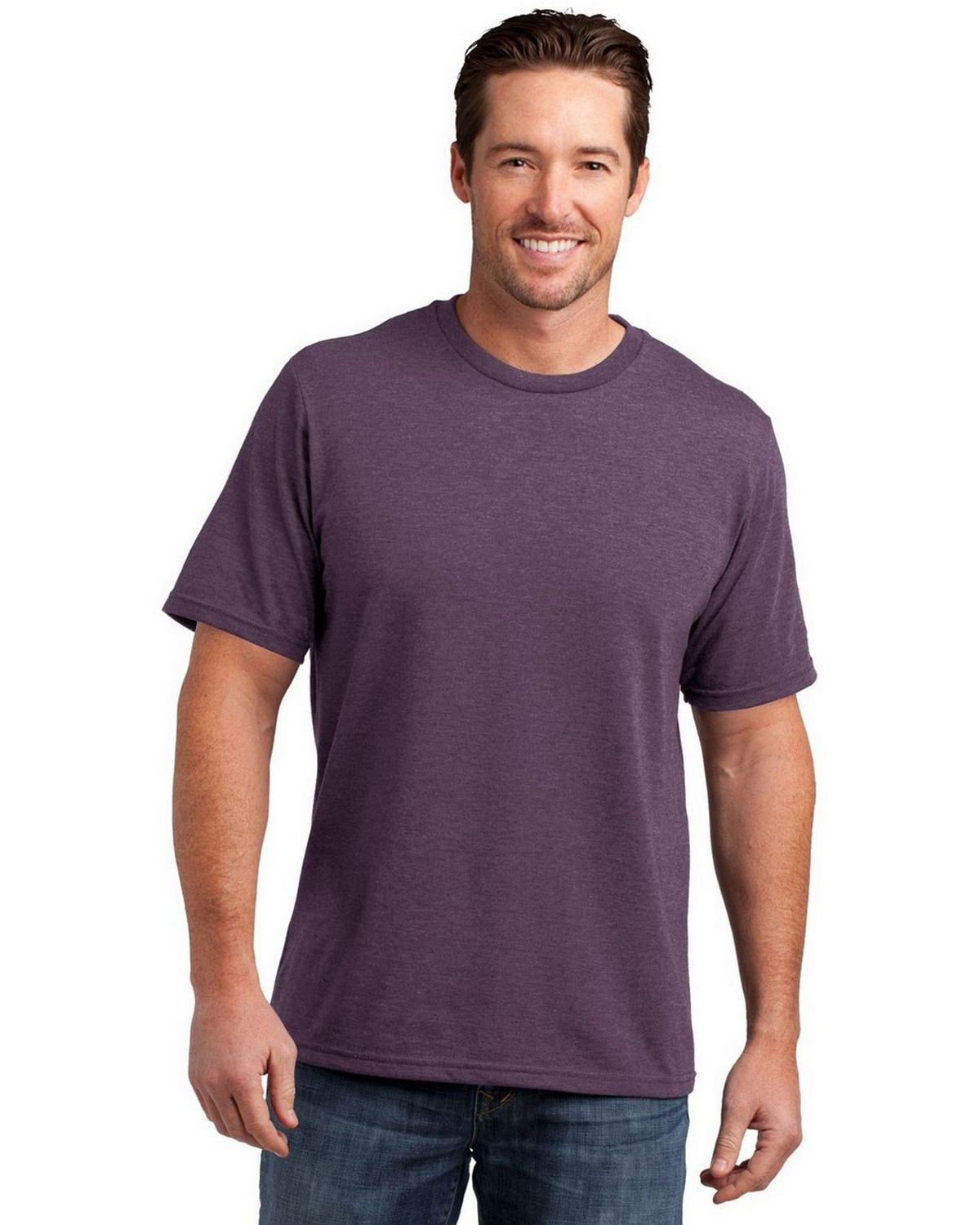 District DM108 Mens Perfect Blend Crew Tee