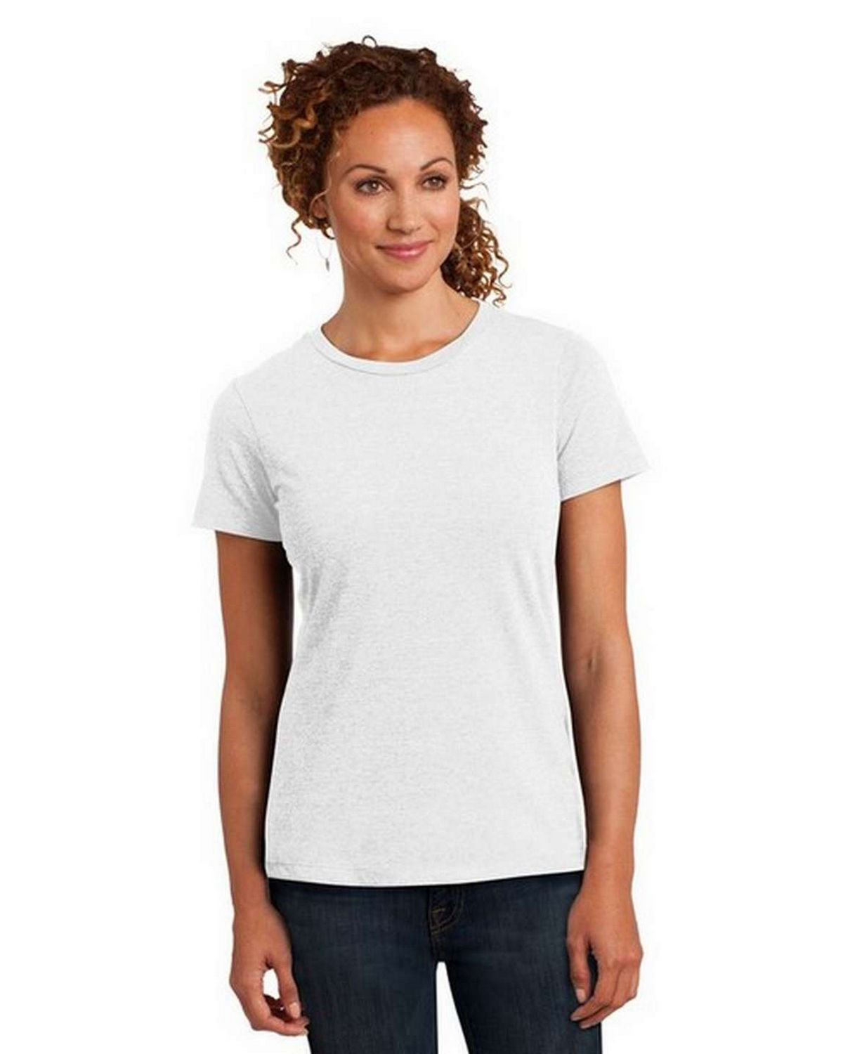 District DM108L Women Perfect Blend Crew Tee