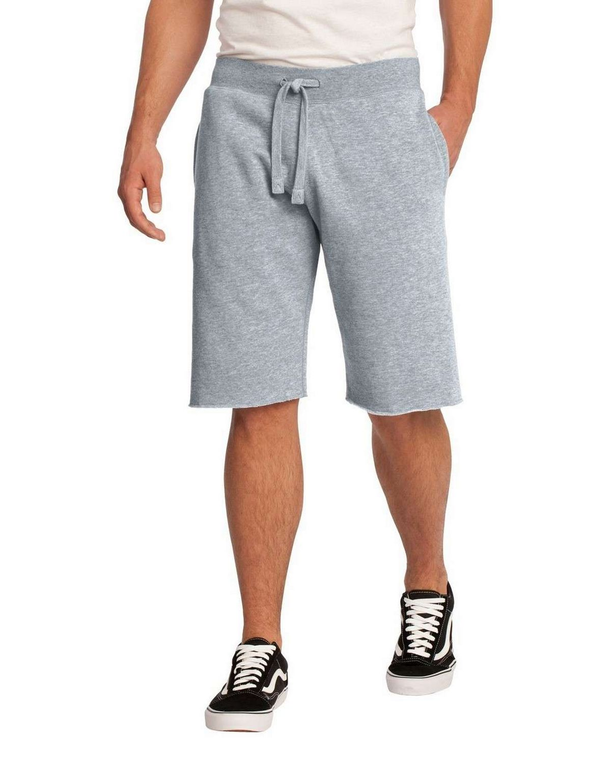 District DT195 Young Mens Core Fleece Short