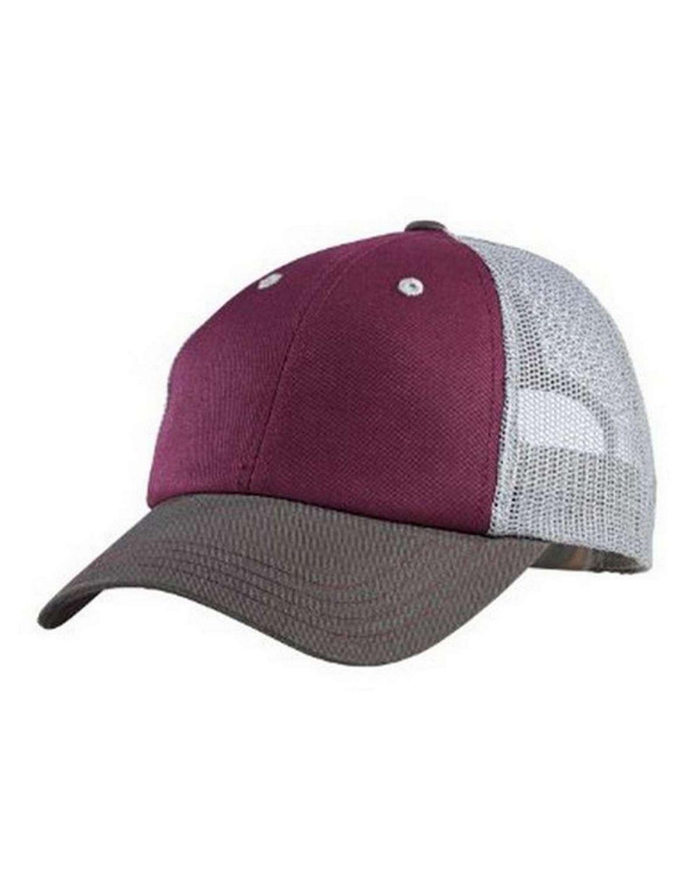 District DT616 Tri-Tone Mesh Back Cap