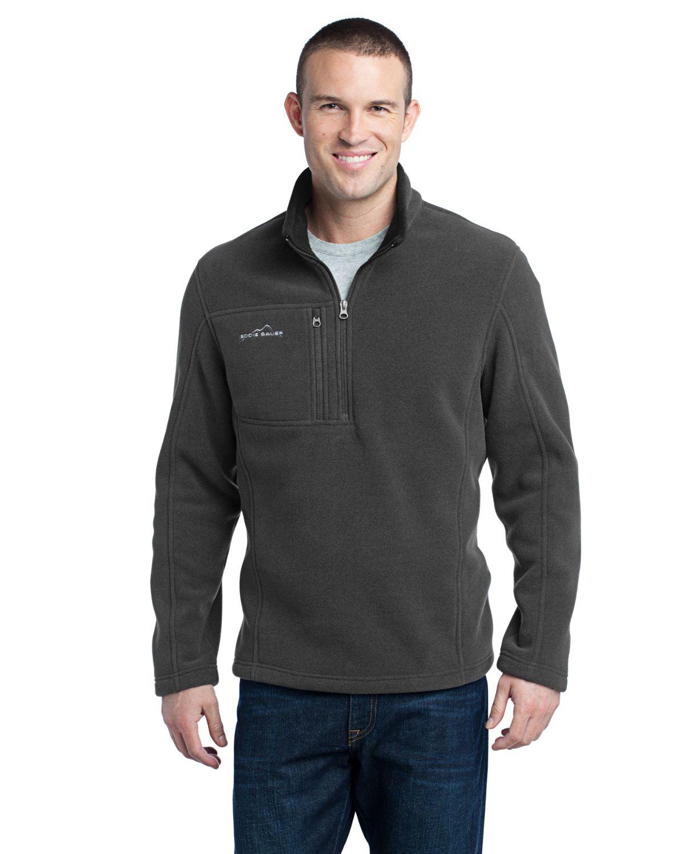 Eddie Bauer EB202 Mens 1/4 Zip Fleece Pullover