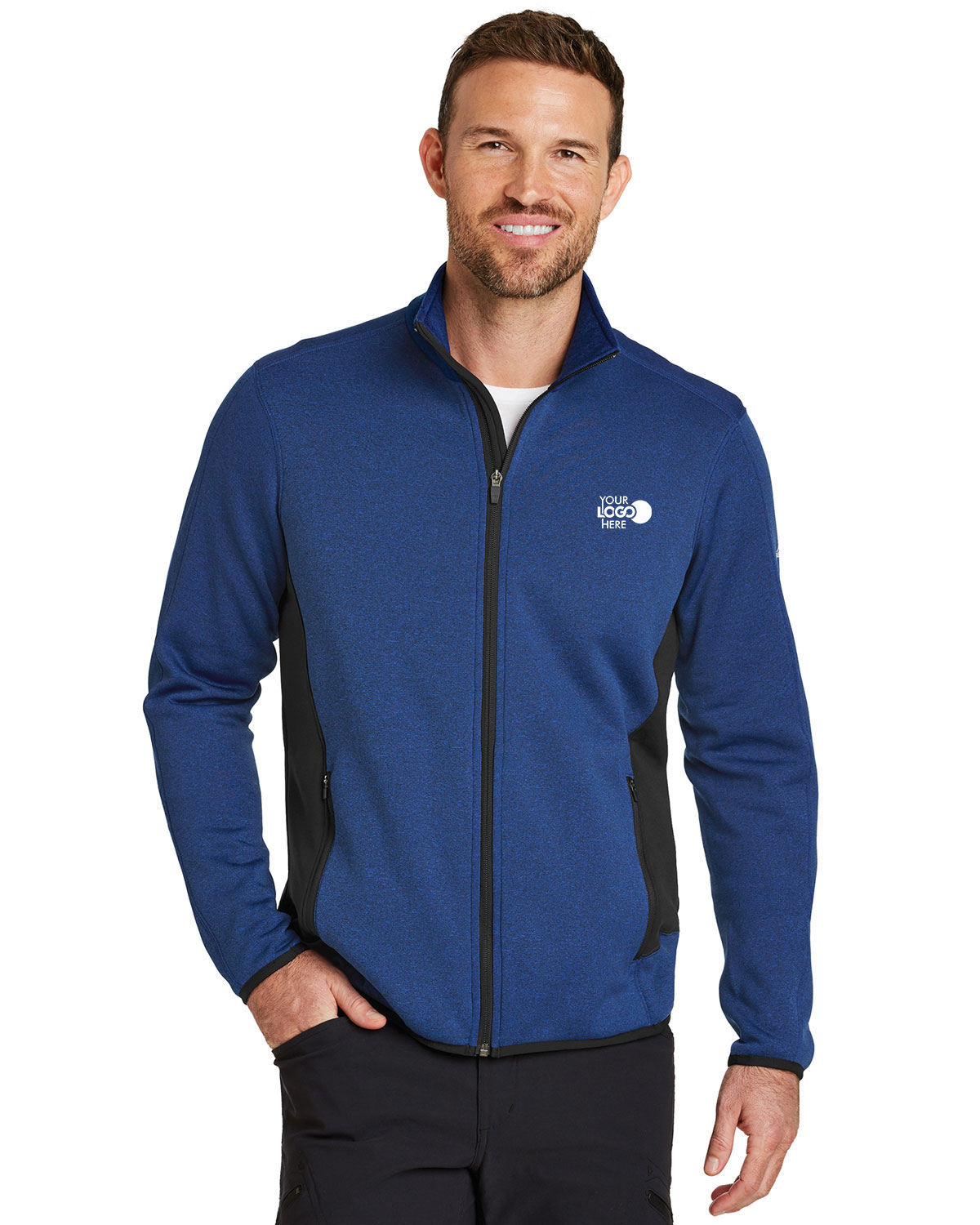 Eddie Bauer EB238 Mens Full-Zip Fleece Jacket