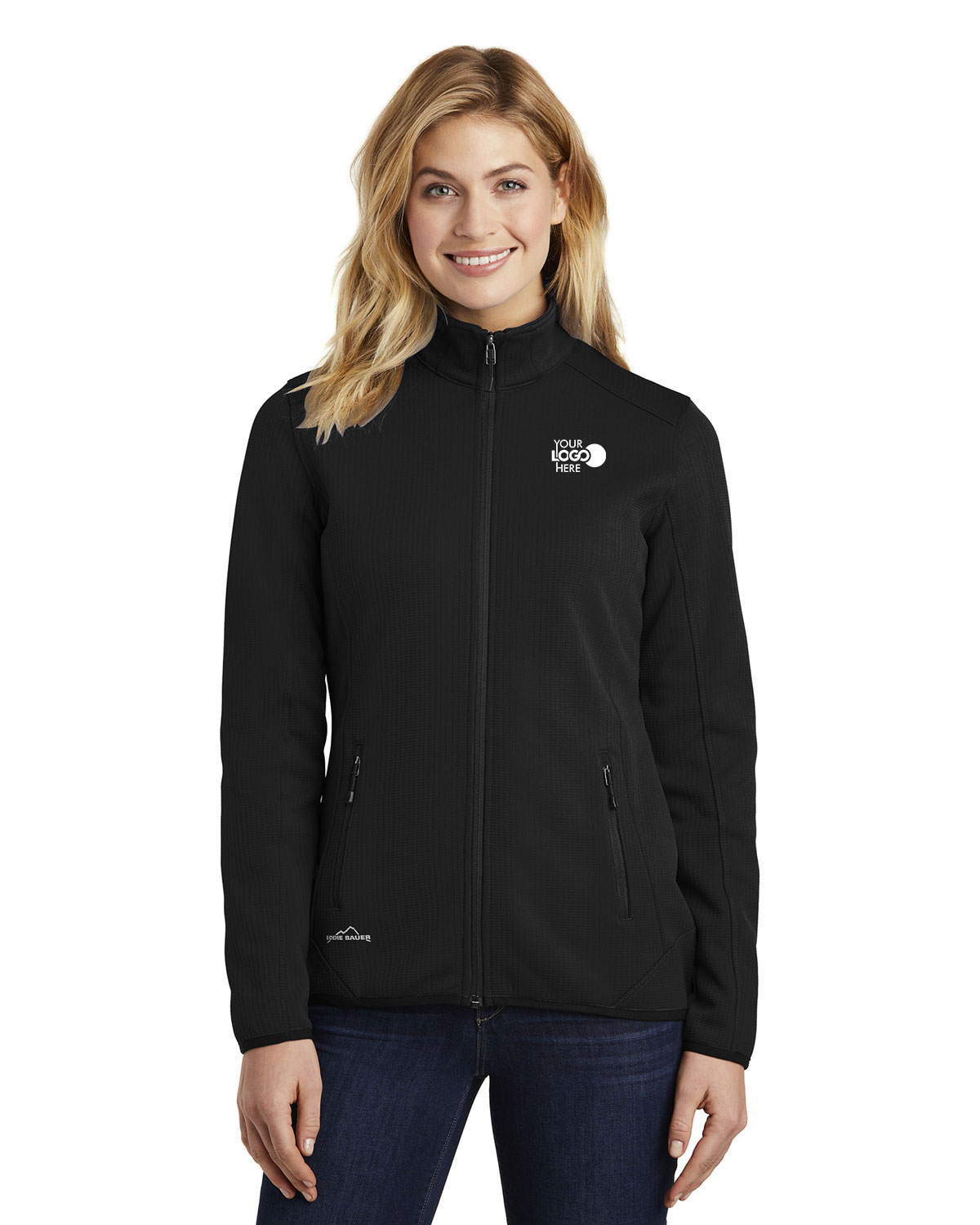 Eddie Bauer EB243 Women Dash Full-Zip Fleece Jacket