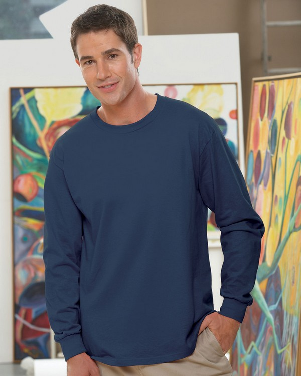 Fruit of the Loom 4930 100% Heavy Cotton HD Long-Sleeve T-Shirt