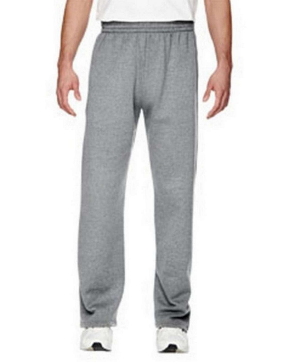Size Chart For Fruit Of The Loom Sf74r Mens Sofspun Open Bottom Pocket Sweatpants A2zclothing Com