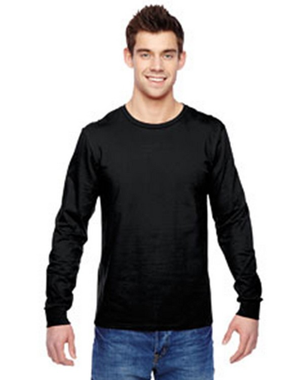 Fruit of the Loom SFLR 100% Sofspun Cotton Jersey Long-Sleeve T-Shirt