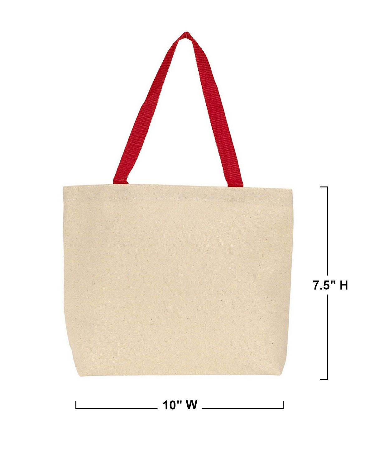 Gemline 220 Colored Handle Tote