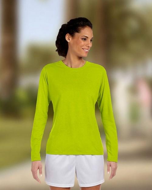 Gildan 42400L Ladies Core Performance Long Sleeve T Shirt
