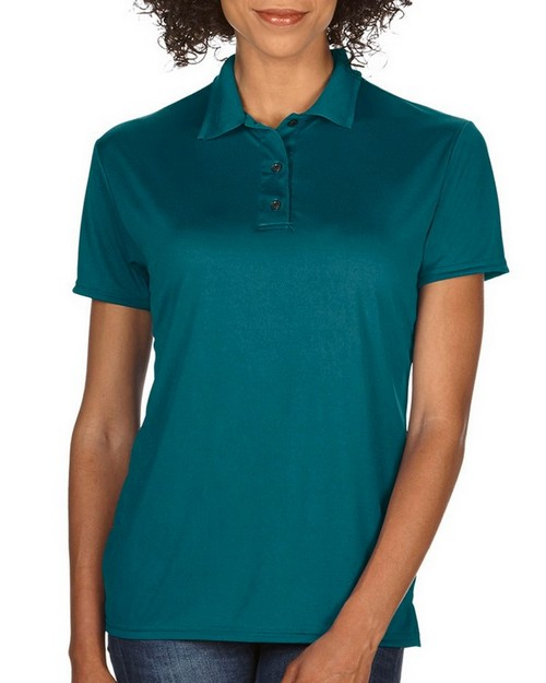 Gildan 44800L Performance Ladies Jersey Polo Shirt