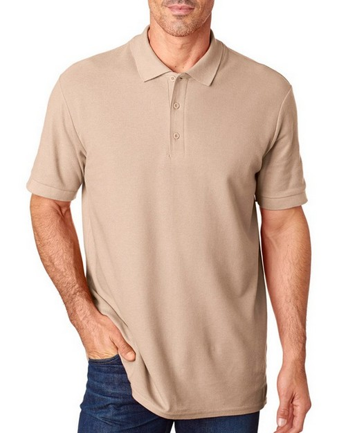 Gildan 82800 Premium Cotton Adult Double Pique Polo Shirt