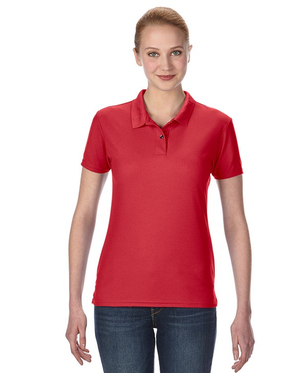 Gildan G458L Performance Ladies Double Piqu Polo