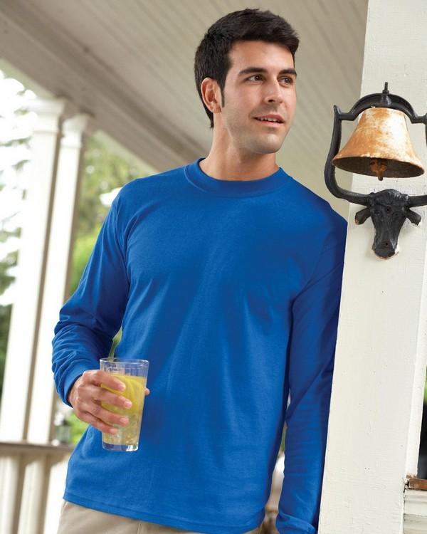 Gildan G540 Heavy Cotton Long-Sleeve T-Shirt