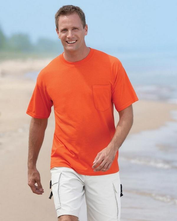 Gildan G830 DryBlend 50/50 Pocket T-Shirt