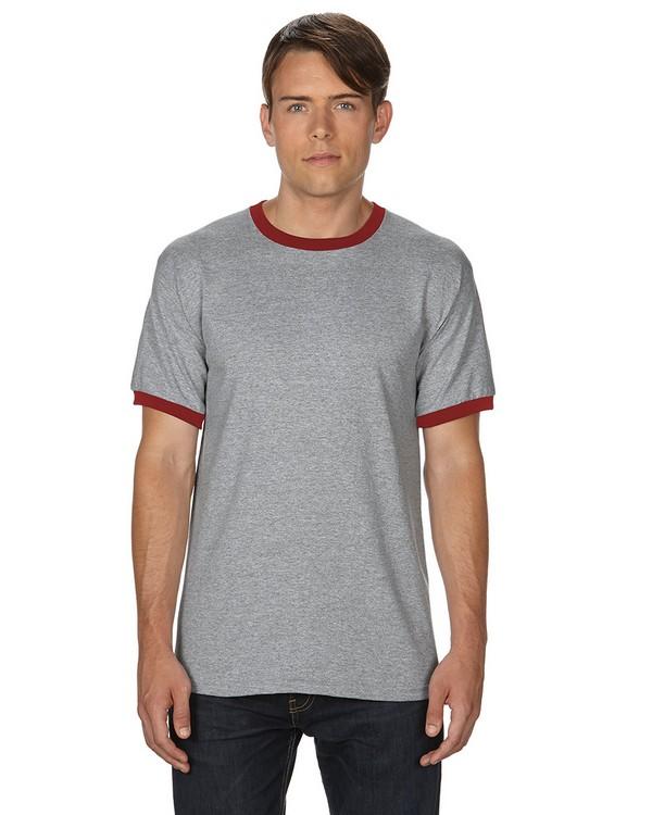 Gildan G860 DryBlend Ringer T-Shirt