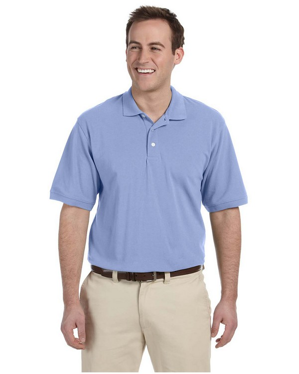 Harriton M265 Mens Easy Blend Polo