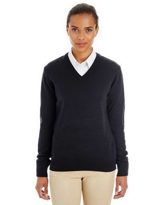 Harriton M420W Ladies Pilbloc V-Neck Sweater