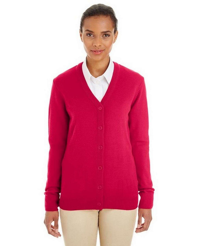 Harriton M425W Ladies Pilbloc Cardigan Sweater