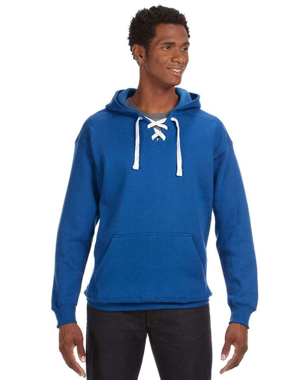 J America J8830 Hockey Hood SweatShirt