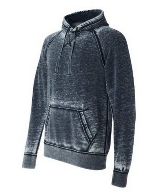 J America J8915 JA Burnout Hooded Sweatshirt