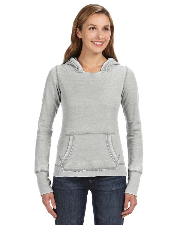 J America JA8912 Ladies Zen Pullover Fleece Hood