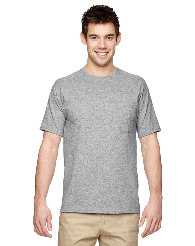 Jerzees 29P Dri-POWER ACTIVE 50/50 Pocket T-Shirt