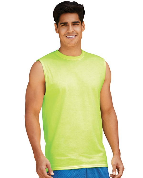 Jerzees 29SR Dri-POWER ACTIVE Adult Sleeveless Shooter T-Shirt