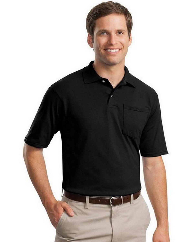 Jerzees 436MP SpotShield Jersey Knit Sport Shirt with Pocket