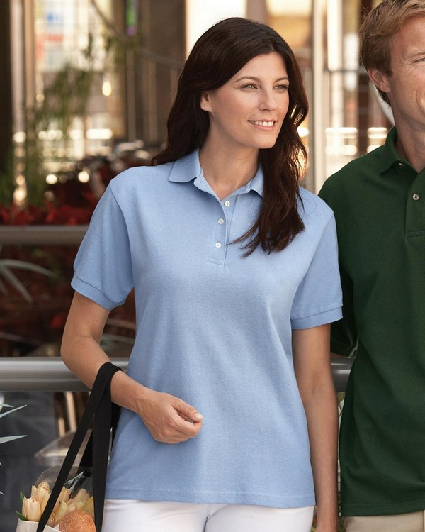 Jerzees 440W Ladies Ringspun Cotton Pique Polo
