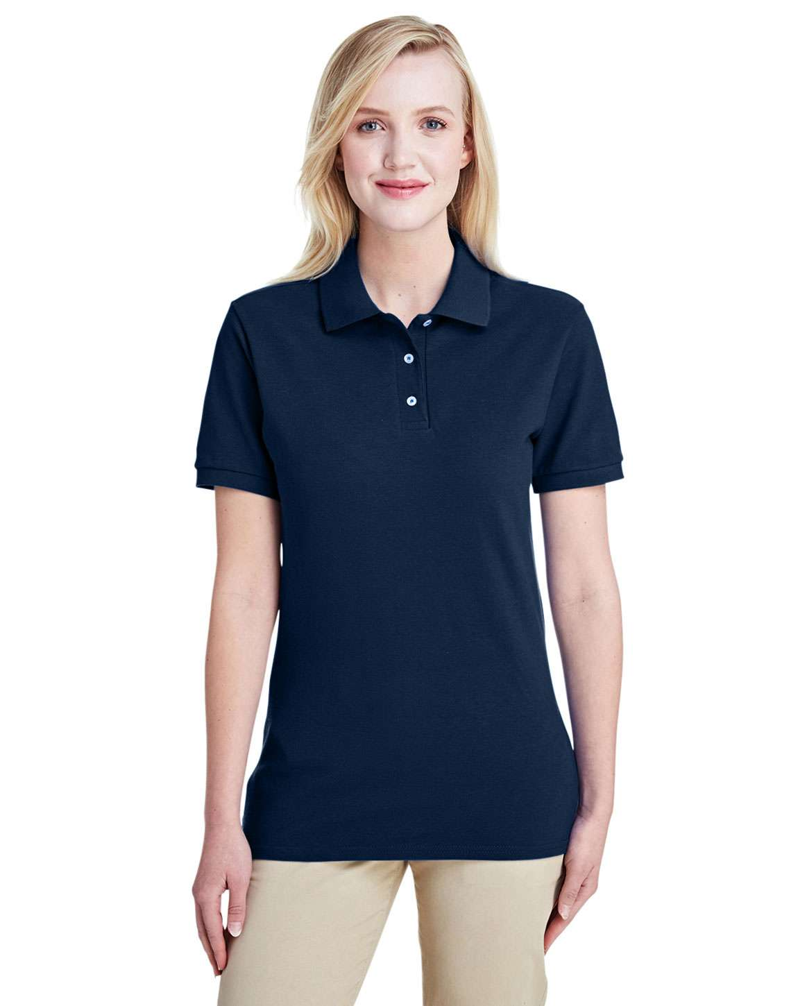 Jerzees 443WR Ladies Premium 100% Ringspun Cotton Pique Polo