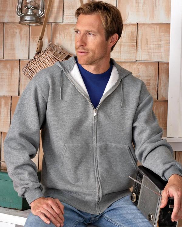 Jerzees 4999 50/50 Super Sweats NuBlend Fleece Full-Zip Hood